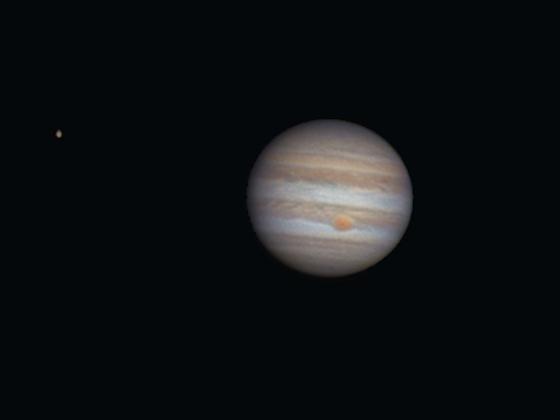 Jupiter mit Teleoptik ((-;