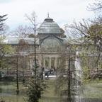 Palacio de Cristal im Retiro-Park in Madrid