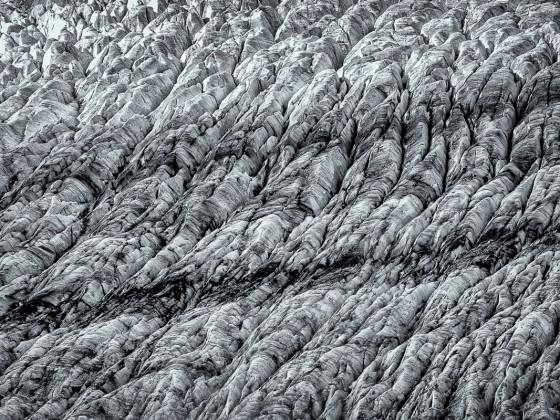 Aletschgletscher im Gegenlicht