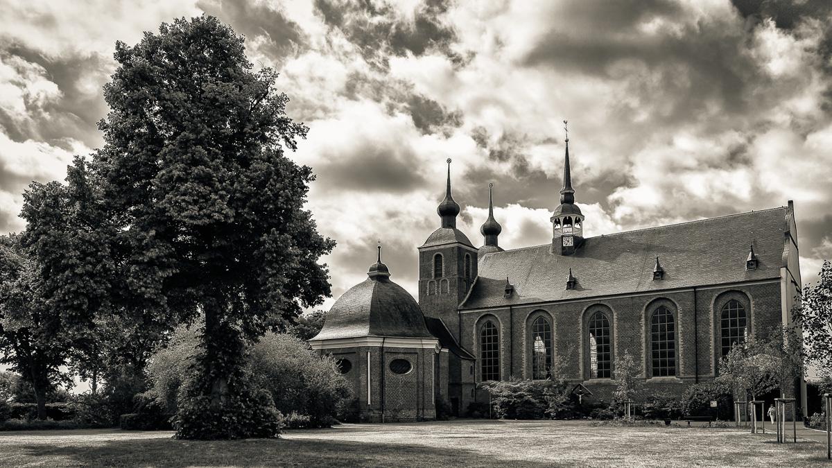 Kloster Kamp s/w