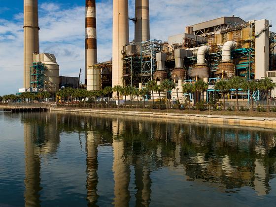 Stromproduktion für Tampa
